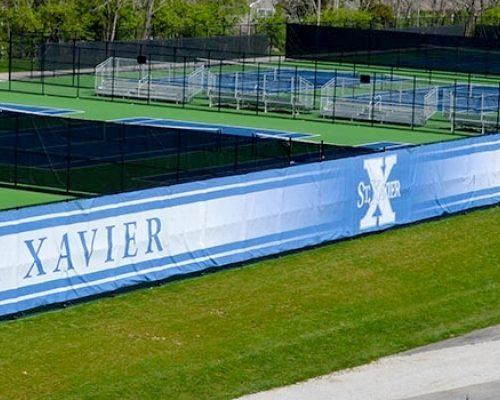 Tennis Windscreen Banners Team Fitz Graphics
