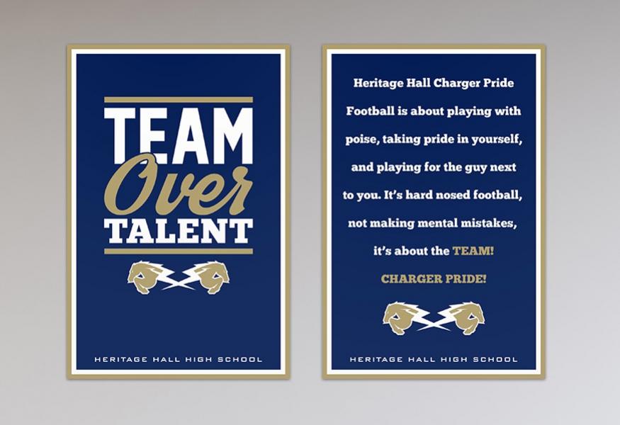 Motivational Signs Team Fitz Graphics